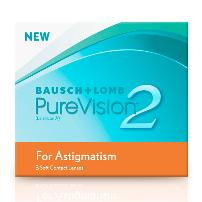 PureVision 2 HD for Astigmatism (3шт)