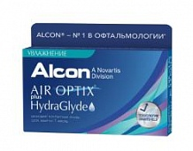AIR OPTIX PLUS HYDRAGLYDE (6 линзы)